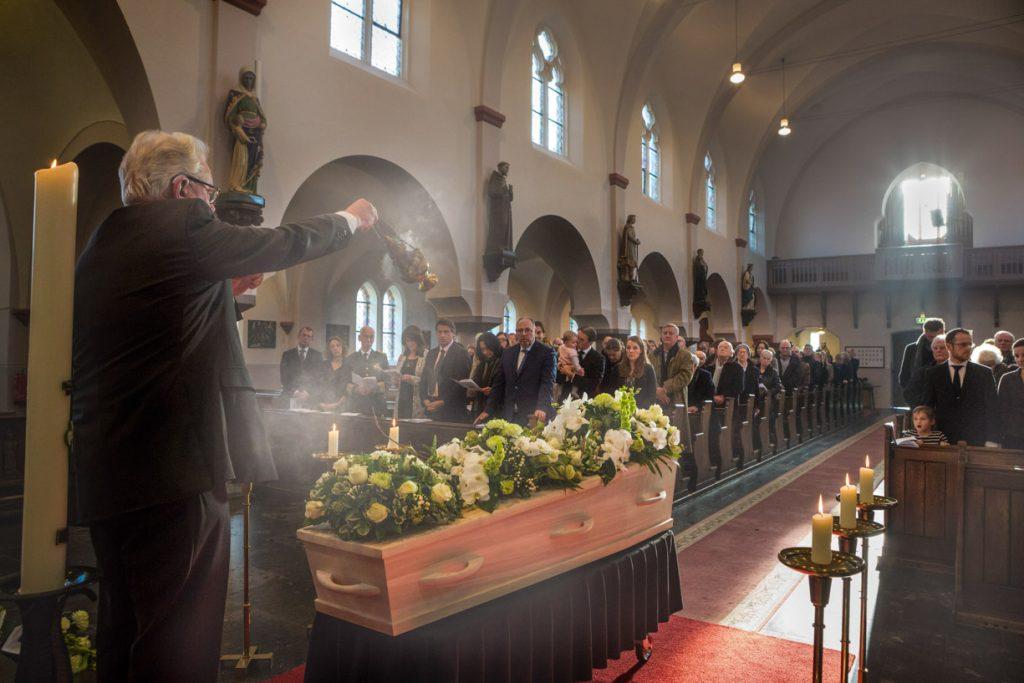 Begrafenis foto