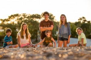 Groepsfoto gemaakt in de Drunense Duinen.
