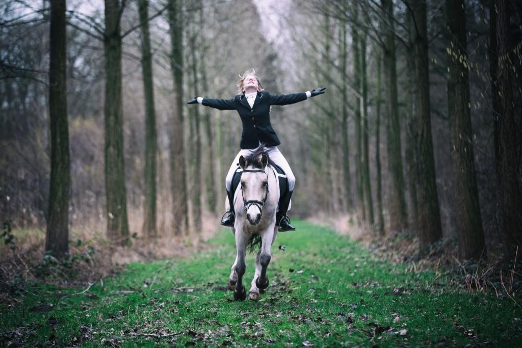 Fotoreportage paard en ruiter
