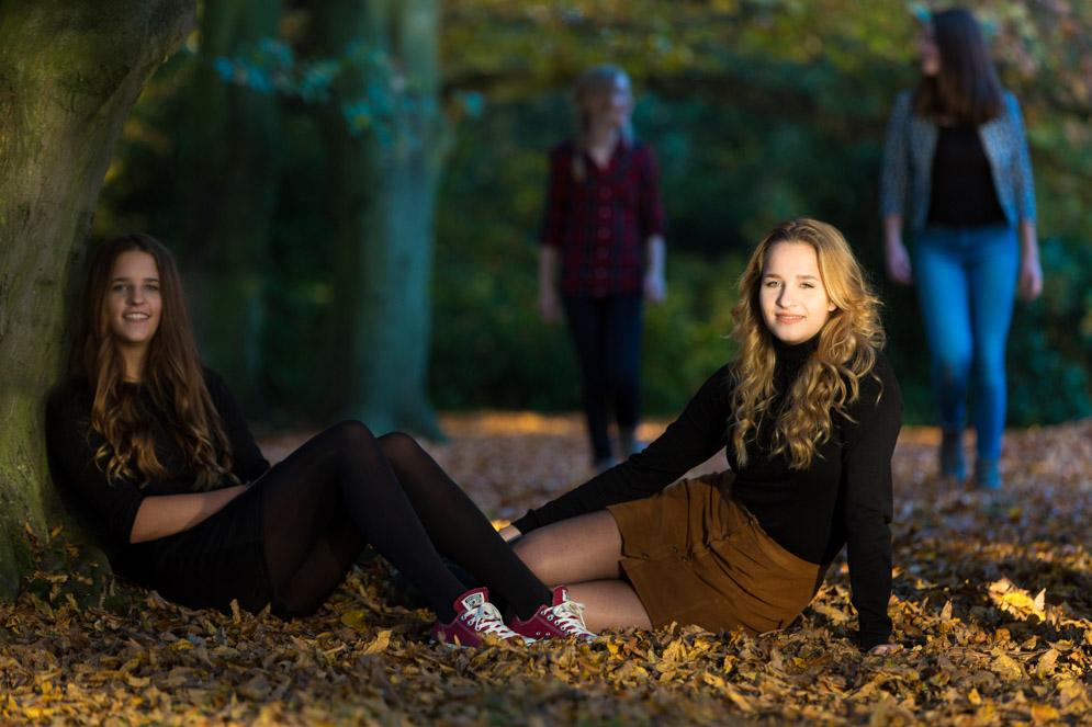 Spontane foto gemaakt tijdens een fotoshoot in de herfst, omgeving Den Bosch Eindhoven.