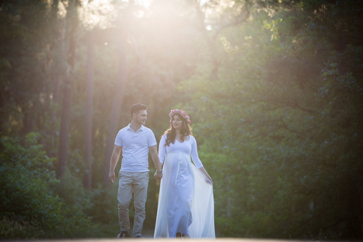 Fotoshoot bij recreatieplas de IJzeren Man in Vught