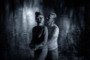 Dramatische belichting portret fotografie
