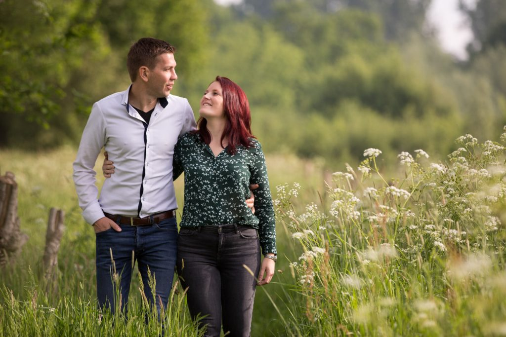 Loveshoot in de lente
